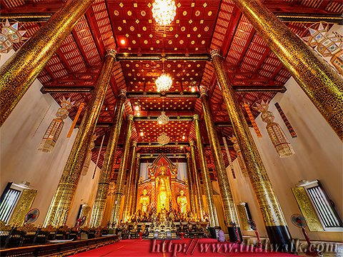 Main Prayer Hall of Wat Chedi Luang