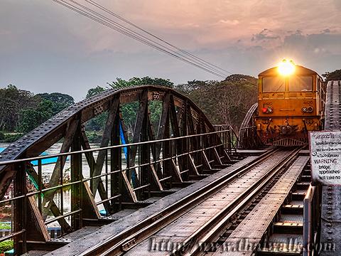 River Kwar Bridge 008 - Kanchanaburi