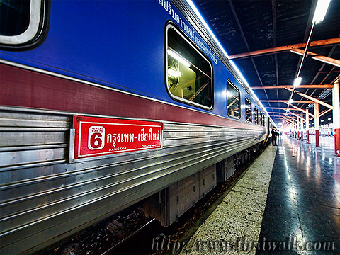 Train travel to Chiang Mai 002