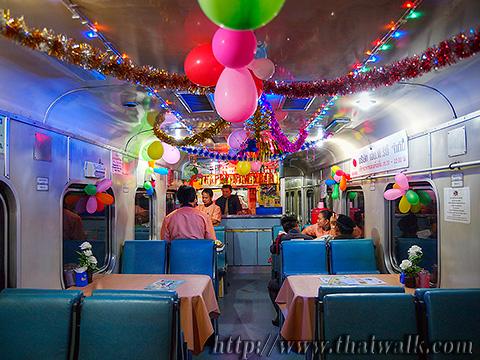 Train travel to Chiang Mai 005