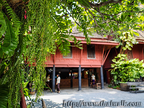 The Jim Thompson House - the reception