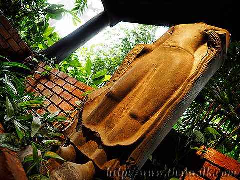 The Jim Thompson House - the Buddha Statue in Ayutthaya Period