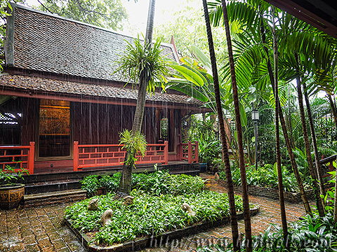 The Jim Thompson House - the silk pavilion