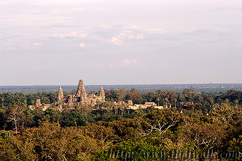 Angkor Wat in 1995 Part.13 - view from Phnom Bakheng