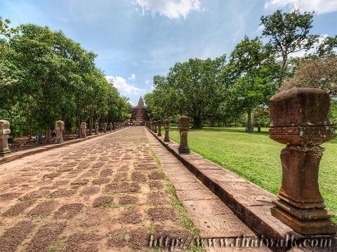 Phanom Rung - the walkway Part.4
