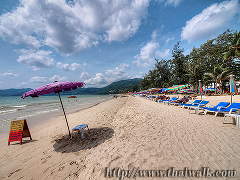 Daytime at Patong Beach Part.3