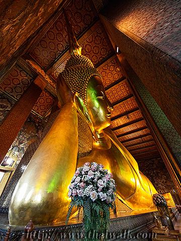 The Reclining Buddha at Wat Pho No.2