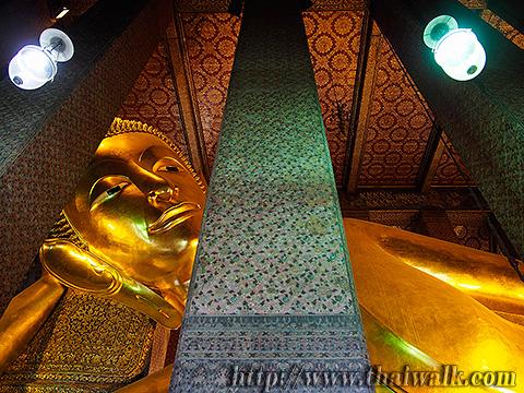 The Reclining Buddha at Wat Pho No.5