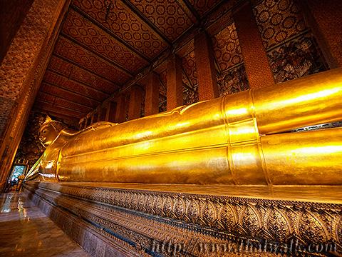The Reclining Buddha at Wat Pho No.7