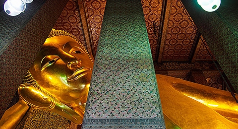 Wat Pho – The Reclining Buddha