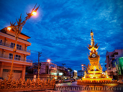 The Clock Tower in Chiang Rai No.01