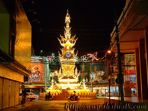 The Clock Tower in Chiang Rai No.05