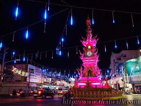 The Clock Tower in Chiang Rai No.07