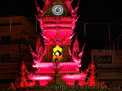 The Clock Tower in Chiang Rai No.10