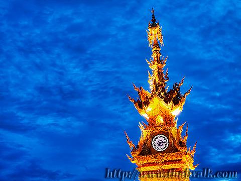 The Clock Tower in Chiang Rai No.02