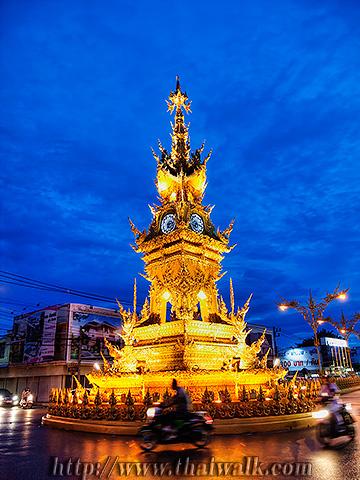 The Clock Tower in Chiang Rai No.03