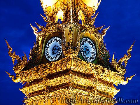 The Clock Tower in Chiang Rai No.04