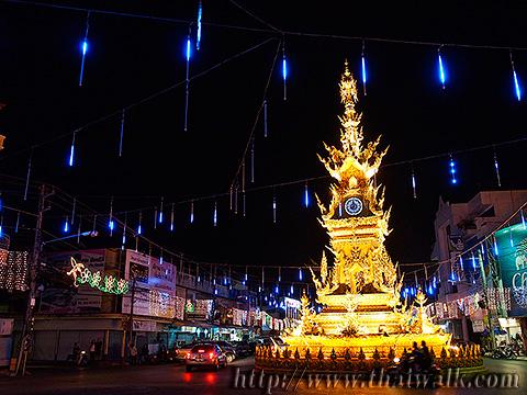 The Clock Tower in Chiang Rai No.06