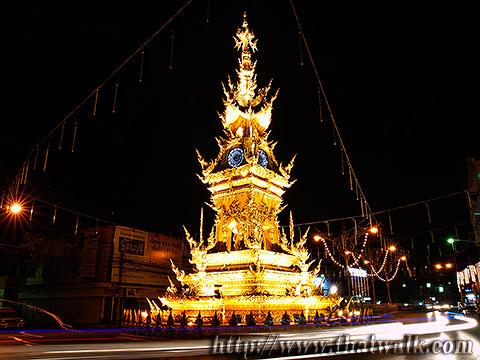 The Clock Tower in Chiang Rai No.12