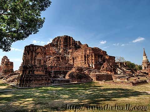 Wat Phra Mahathat in Ayutthaya No.02
