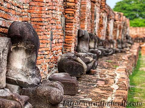 Wat Phra Mahathat in Ayutthaya No.03