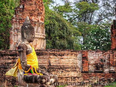 Wat Phra Mahathat in Ayutthaya No.04