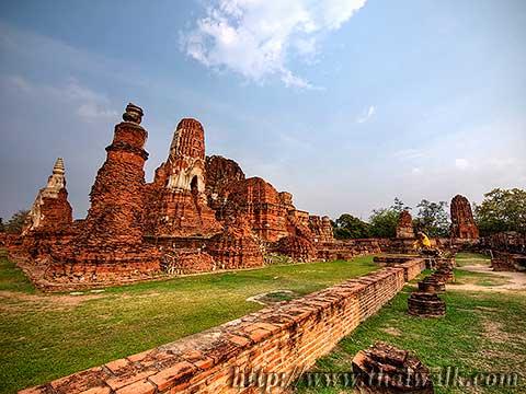 Wat Phra Mahathat in Ayutthaya No.05