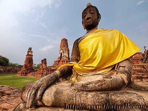 Wat Phra Mahathat in Ayutthaya No.06