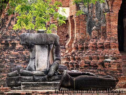 Wat Phra Mahathat in Ayutthaya No.07