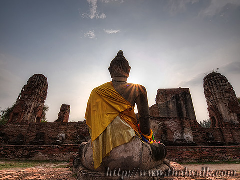 Wat Phra Mahathat in Ayutthaya No.09