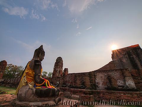 Wat Phra Mahathat in Ayutthaya No.10