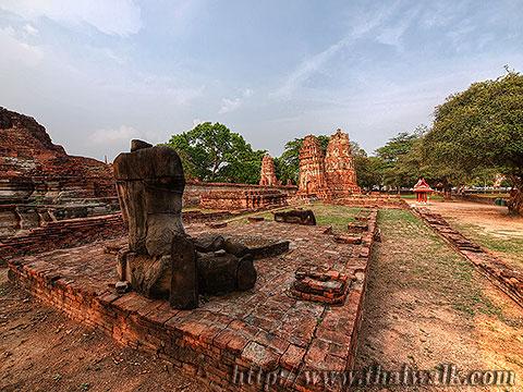 Wat Phra Mahathat in Ayutthaya No.11