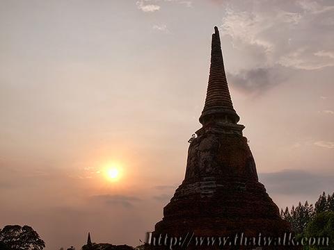 Wat Phra Mahathat in Ayutthaya No.14