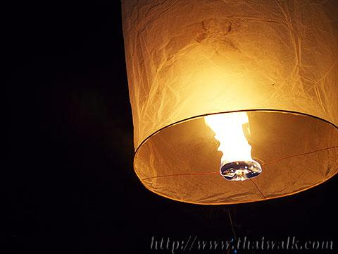 Khom Loy (Sky Lantern) in Bangkok No.03