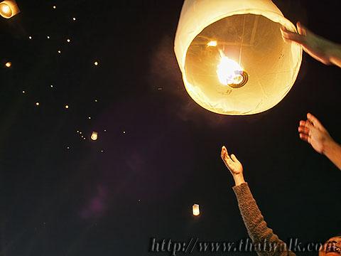 Khom Loy (Sky Lantern) in Bangkok No.11