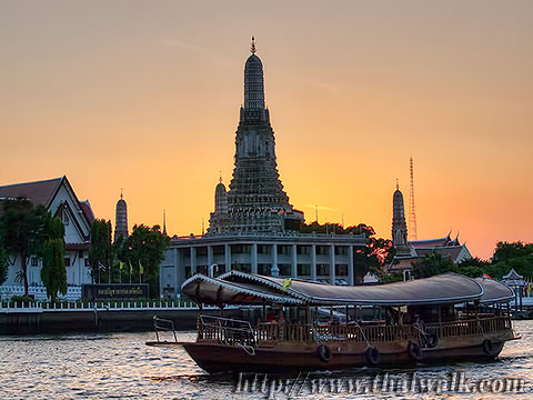Wat Arun - The view across the river No.02