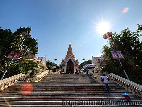 Phra Pathom Chedi - just outside No.01