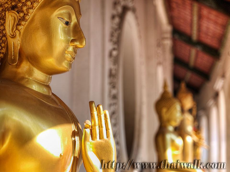 Phra Pathom Chedi - just outside  Thai Walk