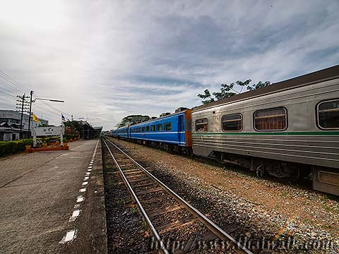 Trang Railway Station No.07